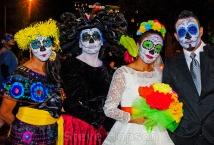 Dia de los Muertos on Halloween