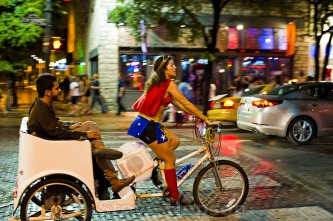 Wonder Woman, Pedicab Driver