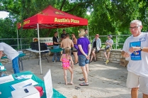 Deep Eddy Pool's 100th Anniversary Party, Austin, Texas, May 21, 2016.