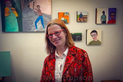 Cheryl Finfrock's current work depicts the character of both place and person.