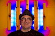 Dave Loomis creates interactive light sculptures.